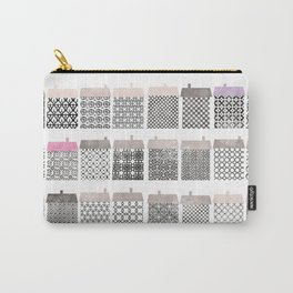 Casitas esgrafiadas. Houses. Casas Carry-All Pouch