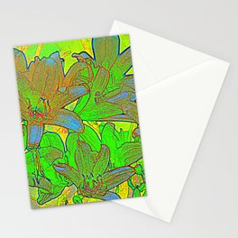 Lilien-Aquarell Stationery Cards