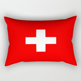 flag of Switzerland Rectangular Pillow