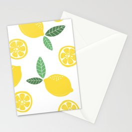 Lemons Stationery Cards