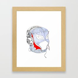 Lucha  Framed Art Print