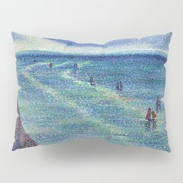 Camaret Fishing Boats on the French Coast by Maximilien Luce Pillow Sham
