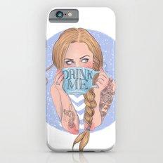 Follow the White Rabbit - Alice Slim Case iPhone 6s