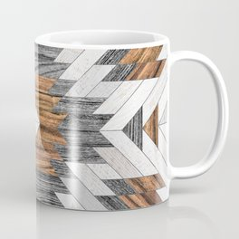 Urban Tribal Pattern No.8 - Aztec - Wood Coffee Mug
