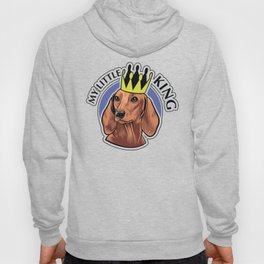 Brown dachshund king Hoody