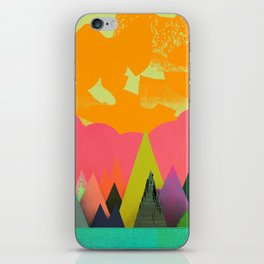 Mountain Town iPhone Skin