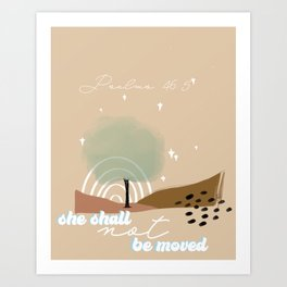 Cami \\ Psalms 46:5 Art Print