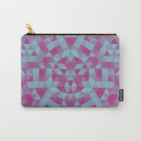 Triangle mandala 2 Carry-All Pouch