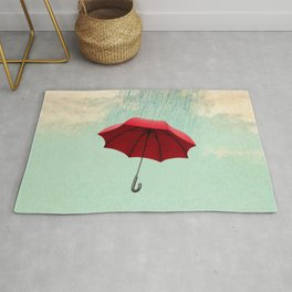 Chasing clouds Rug
