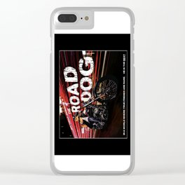 The Road Dog Clear iPhone Case