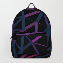 3D Futuristic GEO Lines Backpack