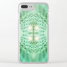 Geometry Dreams : Eternal Clear iPhone Case