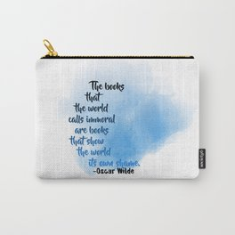 Immoral Books | Oscar Wilde Carry-All Pouch