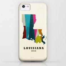 louisiana state map modern Slim Case iPhone 5c