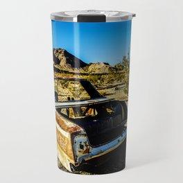 USA: abandoned town in Nevada Travel Mug
