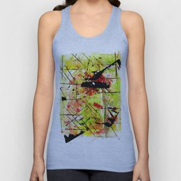 In The Falling Rain Unisex Tank Top