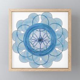 Phuture Phriends Mandala Framed Mini Art Print