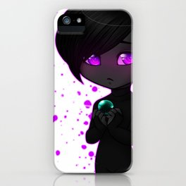 Lonely Enderchibi V2 iPhone Case