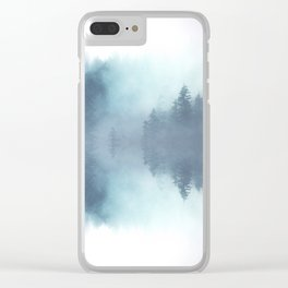 Forest Reflections Clear iPhone Case