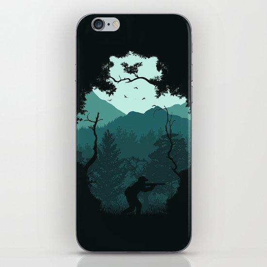 Hunting Season - Blue iPhone & iPod Skin