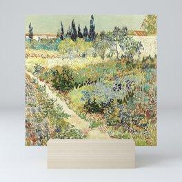 Vincent Van Gogh : Garden at Arles Mini Art Print