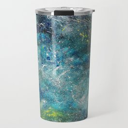 A galactic ocean - Painting Travel Mug