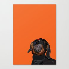 Dog Canvas Print