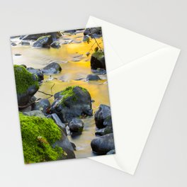 Grizzly Creek In The Fall Stationery Cards