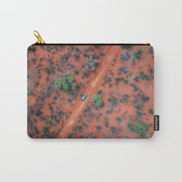 Terracotta Roads Carry-All Pouch