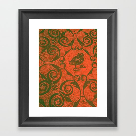 You Were Only Waiting. Framed Art Print