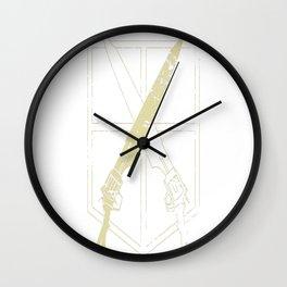 Seed Corps Wall Clock