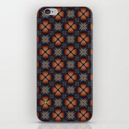 Metallic Deco Copper iPhone Skin