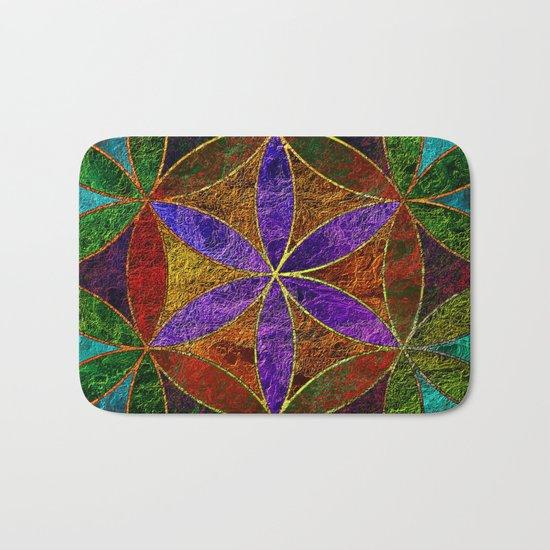 The Flower of Life (Sacred Geometry) 2 Bath Mat