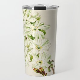 Gyoi-ko or Robe Yellow Cherry Blossoms Travel Mug
