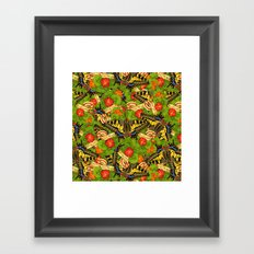 Old World Swallowtail Cacophony Framed Art Print