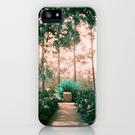 New Orleans on Lomochrome Turquoise iPhone Case