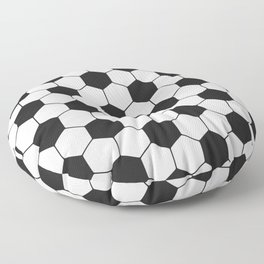 Soccer ball pattern Floor Pillow