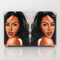 aaliyah iPad Cases featuring At Your Best by Tetevi Teteh