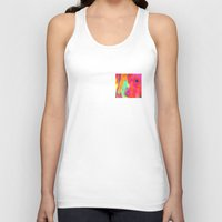 rush Tank Tops featuring Gold Rush by elikourY