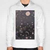 constellations Hoodies featuring Constellations  by dreamshade
