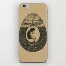 Natural Birth iPhone Skin