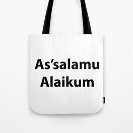 As'salamu Alaikum Tote Bag