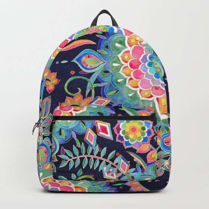 Color Celebration Mandala Backpack