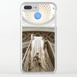 La Estatua de la República Clear iPhone Case