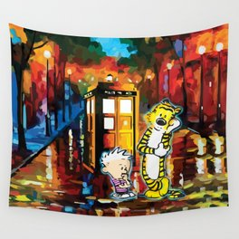 They are Thingking Wall Tapestry