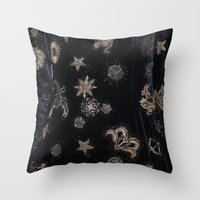 constellations Throw Pillows featuring Constellations  by dreamshade