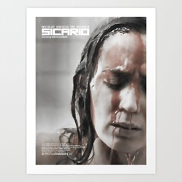 Sicario Alternative Movie Poster Art Print