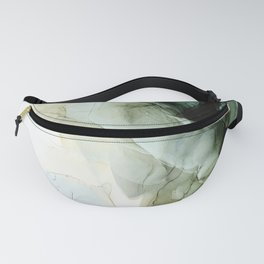 Land and Sky Abstract Landscape Painting Fanny Pack