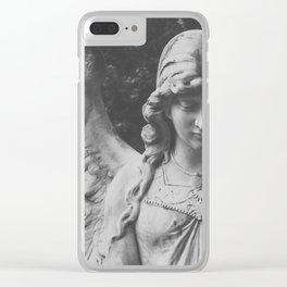 Angel no. 1 Clear iPhone Case