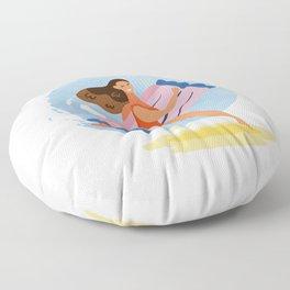 Summer Girls Clipart Set. No 1/4 Floor Pillow